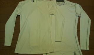 ナイキのハイパーウォームとUNDER ARMOURのアンダーシャツ