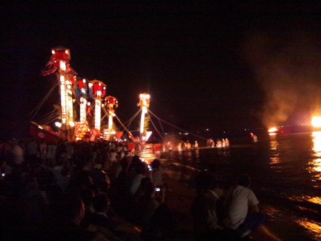 鵜飼キリコ祭り