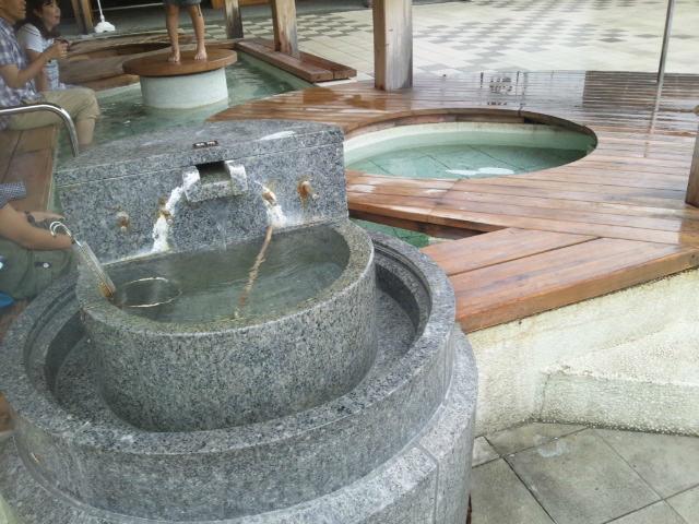 和倉温泉の総湯 足湯